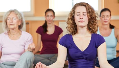 Zeit für Achtsamkeit und Meditation